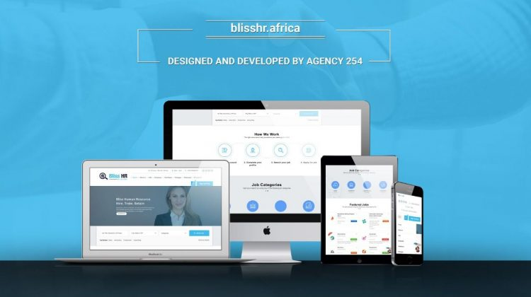 Bliss HR Website Design